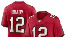 Tom Brady, Cam Newton lead 2020 NFL jersey sales -- shop the top 5 here