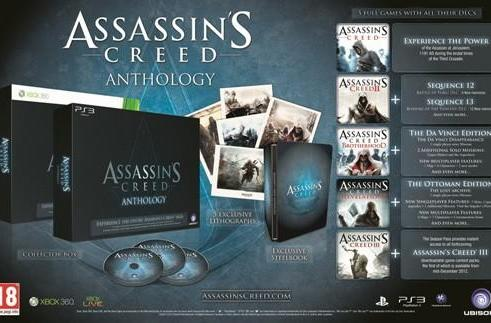 Assassin's Creed Anthology is 'EMEA exclusive,' not coming to North America 'for now'