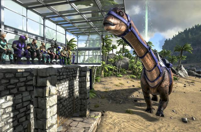 Sony 'won't allow' cross-platform dino survival in 'Ark' either