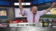 Cramer's lightning round: The tariff-plagued Deere is a l...