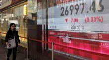 World stocks fall on worries over US-China talks