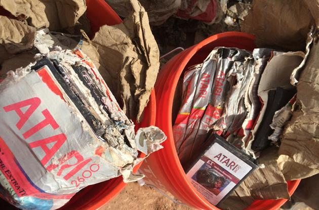 E.T. and other Atari games rescued from New Mexico landfill to be sold