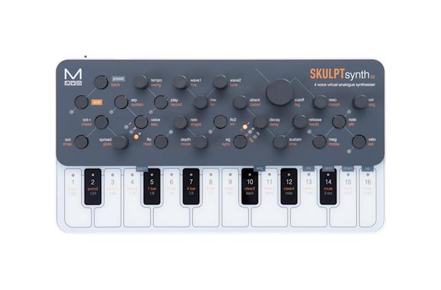SkulptSynth SE is a $199 portable virtual analog synth with MPE support