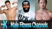 Top 10 YouTube Men's Fitness Channels -  TopX Ep.19