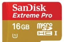 SanDisk announces Extreme Pro microSD cards for smartphones and tablets, quick speeds starting at $60