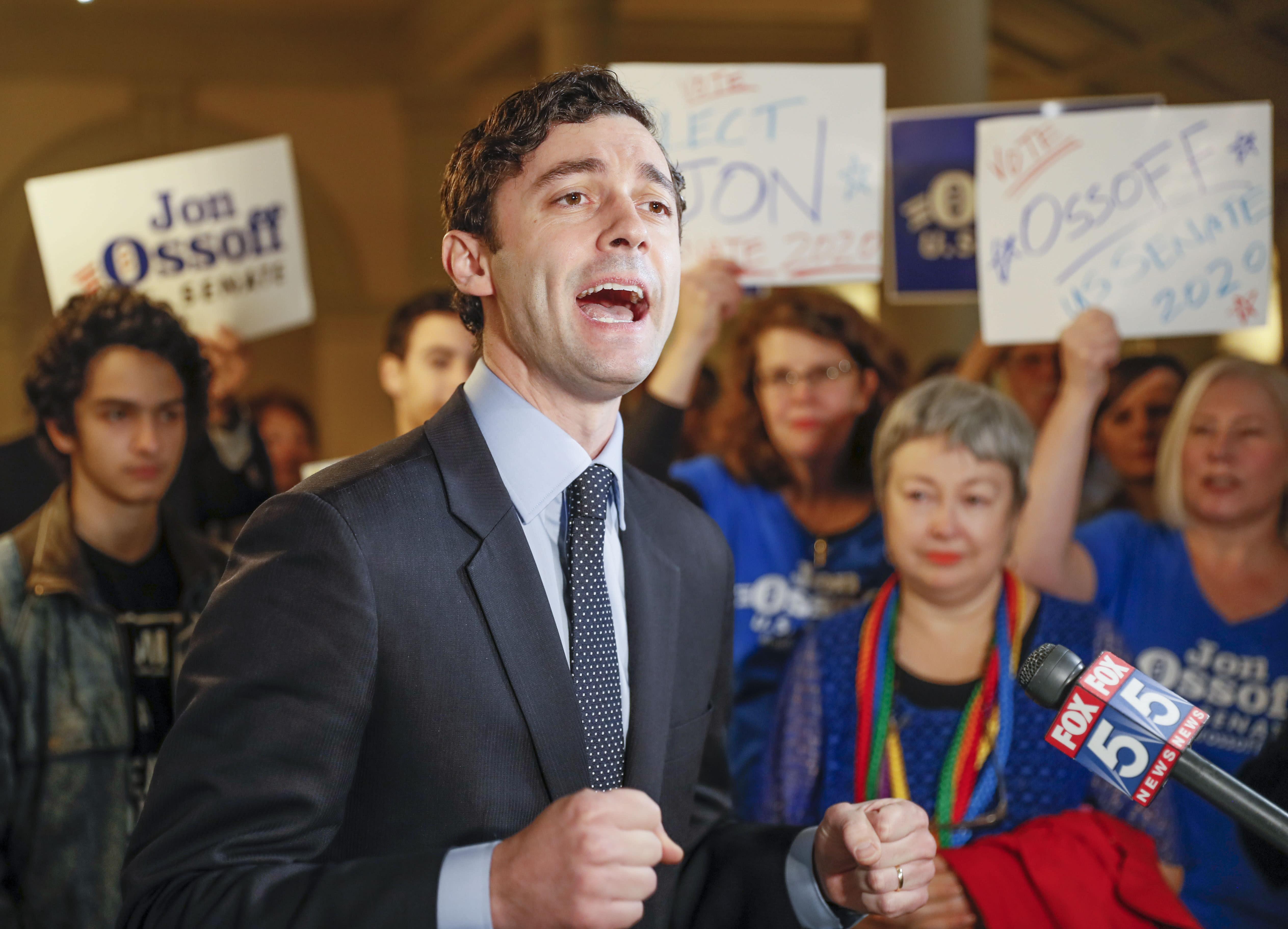 Virus Outbreak Election 2020 Georgia Ossoff