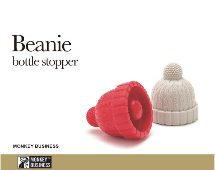 Beanie bottle stopper 毛帽瓶塞
