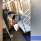 Man Kicks Woman On Subway. Bystanders Shoot Video. Police Make Arrest.