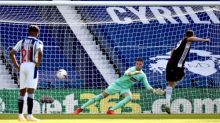 Jamie Vardy is on the spot as Leicester prove too strong for West Brom