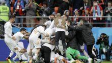 World Cup 2018: Gimenez rises to break Egypt hearts as Uruguay win opener