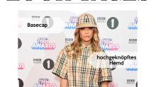 Look des Tages: Rita Ora im Burberry-Zweiteiler