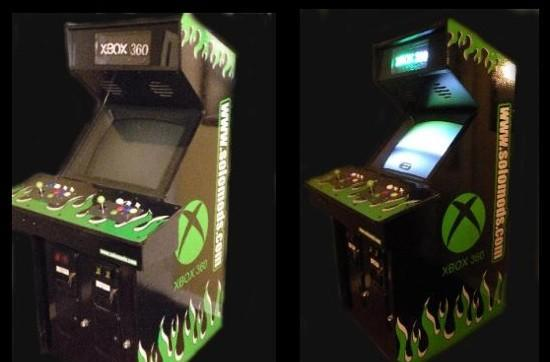 Xbox 360 arcade cabinet - the games you love at a price you can't afford