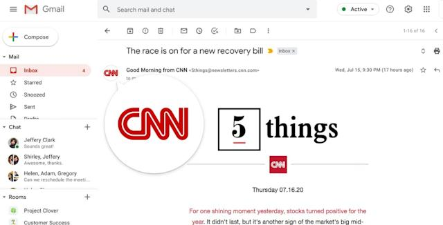Gmail is about to start testing verification-like logos for email