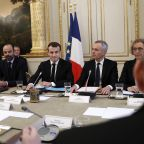 The Latest: Macron promises tax relief, help for pensioners