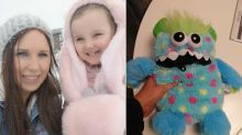 Mum discovers way to ease her five-year-old's anxiety with a monster