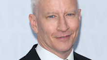 Anderson Cooper grew a beard and Twitter can't even