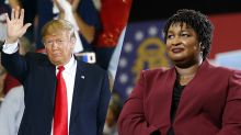 Stacey Abrams, Yale Law graduate, calls Trump's attacks on her qualifications 'vapid'