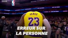 À la mort de Kobe Bryant, la BBC diffuse des images... de LeBron James