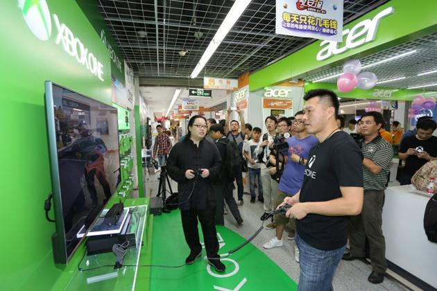Xbox One launches in China