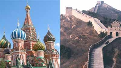 How China and Russia Are Alike and Different