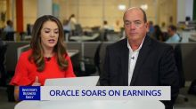 Oracle Soars On Earnings