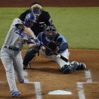 Corey Seager hits rare double as World Series and LCS MVP