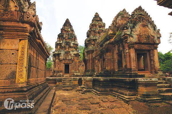 也可從越南轉機柬埔寨暹粒。(圖/MOOK)