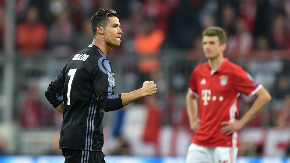 Cristiano Ronaldo puso su sello ante Bayern Munich