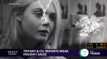 Tiffany & Co. reports dull holiday sales