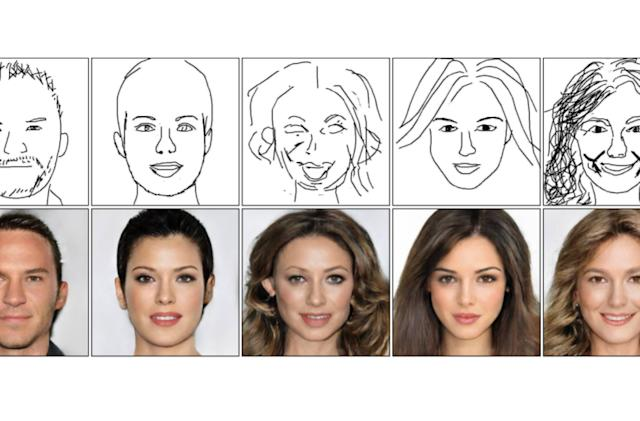 'DeepFaceDrawing' AI can turn simple sketches into detailed photo portraits