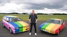 'Top Gear' paints rainbow flag on cars used for Brunei filming in wake of LGBTQ death penalty laws