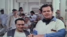 Watch Jack Nicholson Accept His 1975 BAFTA From the Set of 'One Flew Over the Cuckoo's Nest'