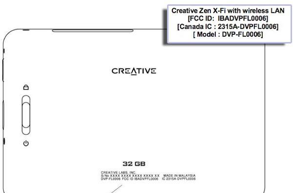 Creative's Zen X-Fi player gets right with the FCC