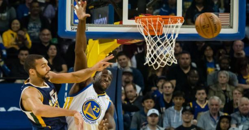 Basket - NBA - Utah s'impose à Golden State avec un très bon Rudy Gobert