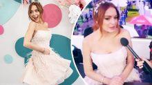 Lindsay Lohan spills major Masked Singer secret at Melbourne Cup