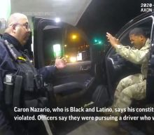 Virginia cops pepper-sprayed Black and Latino Army officer who had hands raised during traffic stop, video shows