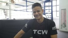 Singapore's Muhamad Ridhwan boxing his way onto world stage