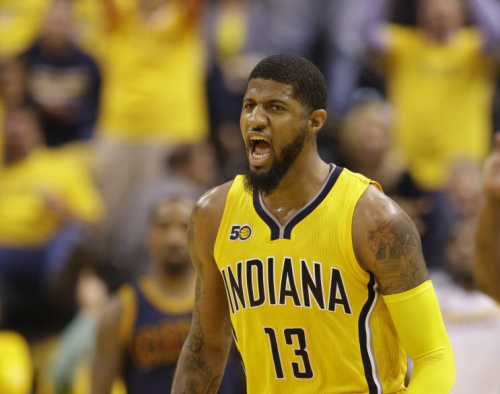 Paul George is one of the NBA's best two-way players. (AP)