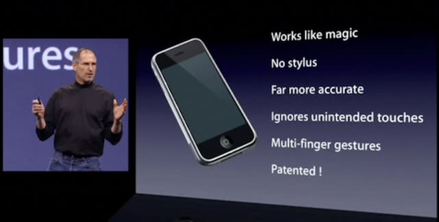 When Steve Jobs and Apple started taking patents seriously