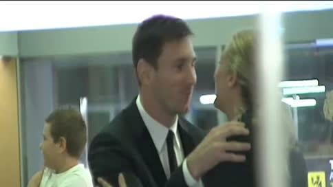 Leo Messi regresa a Barcelona