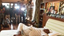 Eighty-six-year-old HD Deve Gowda's does yoga with ease; Twitter marvels at former prime minister's agility
