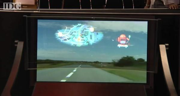 Pioneer's prototype laser HUD could help you drive home, connected to an Android smartphone (video)
