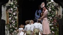 The Duchess of Cambridge was ALL mums at Pippa Middleton's wedding
