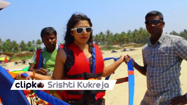 Go parasailing in Goa!