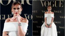 Nieves Álvarez, una oda a la elegancia en los premios Vogue Joyas 2018