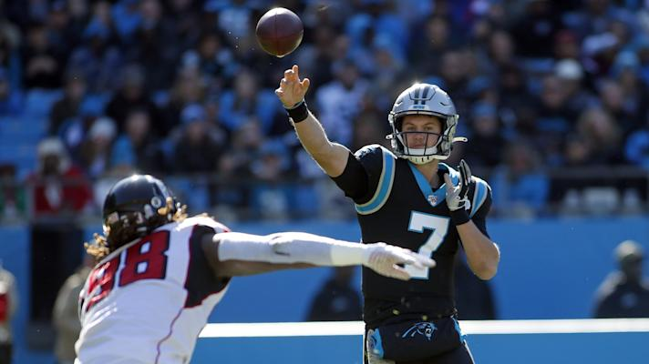 Kyle Allen struggles in 29-3 loss to the Falcons