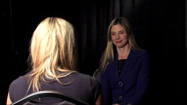 MIra Sorvino discusses child trafficking
