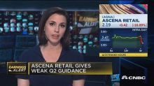 Ascena Retail in line with expectations, but offers weak ...