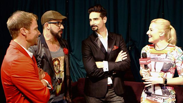 The Backstreet Boys Sing A Cappella For Us and Talk Their New Album, In a World Like This