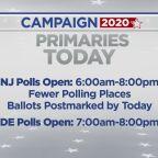 Primaries Being Held Today In New Jersey, Delaware